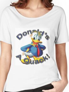 "Anti Trump ""Donald's A Quack"" Women's Relaxed Fit T-Shirt"