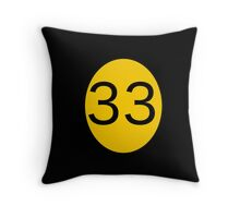 Club 33 Throw Pillow
