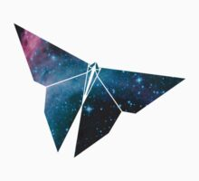 Cosmic Origami Butterfly T-Shirt