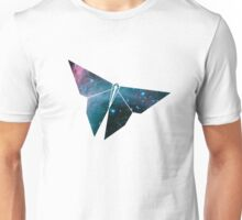 Cosmic Origami Butterfly Unisex T-Shirt