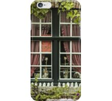Green Window in Brugge - Travel Photography/ Object Photography iPhone Case/Skin