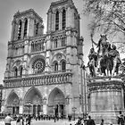 Notre Dame in Black & White by Michael Matthews