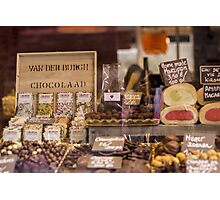 Belgian Chocolate - Travel Photography Photographic Print
