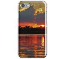 Sunset over Pierce Lake iPhone Case/Skin