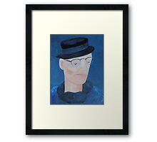 Ivan Brown - blues man Framed Print