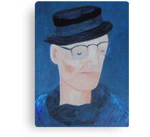 Ivan Brown - blues man Canvas Print