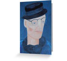 Ivan Brown - blues man Greeting Card