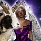 Aries Angel by Kristie Theobald