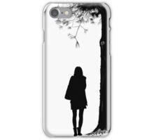 Dark Bird Is Home Silhouette iPhone Case/Skin