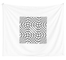 abstract net Wall Tapestry