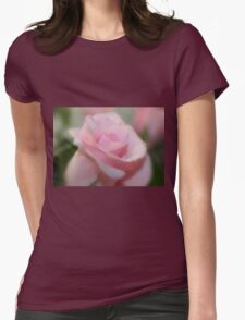 Tranquil Rose Womens Fitted T-Shirt