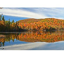 automn reflection Photographic Print