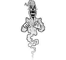 Reaper Ghost Photographic Print