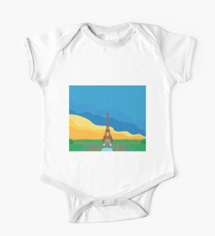 La Tour Eiffel One Piece - Short Sleeve