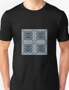 Bright abstract seamless lace pattern romantic print background Unisex T-Shirt