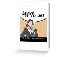 Fey & Co. Law Offices. Greeting Card