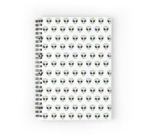 Aliens Spiral Notebook