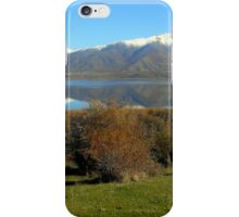 Gazing at the sky iPhone Case/Skin