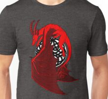Red Celtic Dragon Unisex T-Shirt