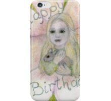 Happy Birthday my Baby Girl iPhone Case/Skin
