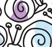 Snails Sticker