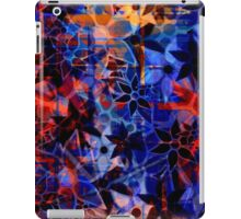 Abstract Art Retro Floral Pattern iPad Case/Skin