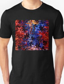Abstract Art Retro Floral Pattern Unisex T-Shirt