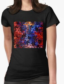 Abstract Art Retro Floral Pattern T-Shirt
