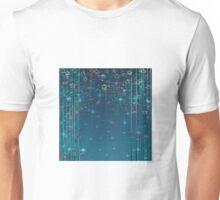 Magic fairy abstract shiny with stars Unisex T-Shirt