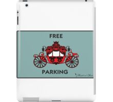 """Mozart and Marie """"Free Carriage Parking"""" Mozopoly iPad Case/Skin"""