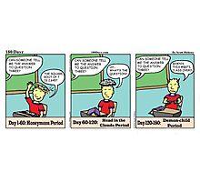 180Dayz Student Comic Photographic Print