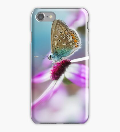 In the garden at dawn iPhone Case/Skin