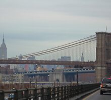 View from the BQE by Gilda Axelrod