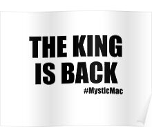 The King is Back Poster