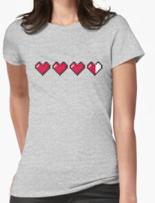 I Love Retro Gaming Womens Fitted T-Shirt