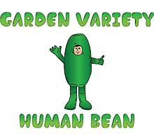 Garden Variety Human Bean Photographic Print