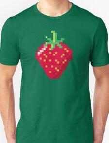Pixel Strawberry Unisex T-Shirt