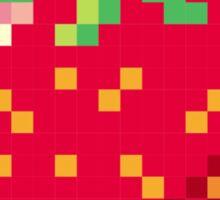 Pixel Strawberry Sticker