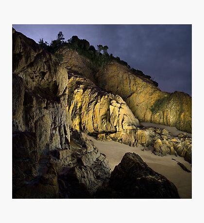 Coastal Ravine - Mystery Bay Photographic Print