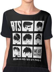 BTS WE ARE BULLETPROOF Chibi Chiffon Top