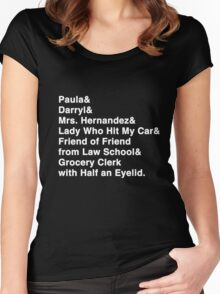 I Have Friends Women's Fitted Scoop T-Shirt