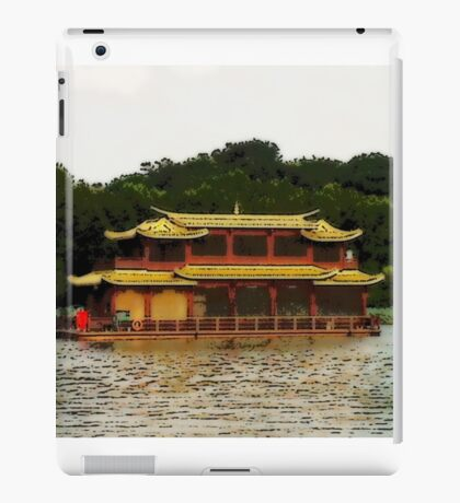 """Chinese Ferry"" Photo / Digital Painting iPad Case/Skin"