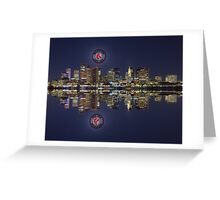 Red Sox and Boston Greeting Card