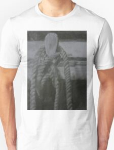 Rope On a Mooring Post Unisex T-Shirt