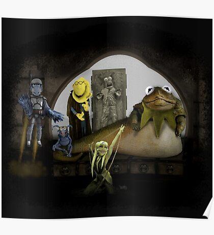 Kermit the Hutt Poster