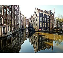 Amsterdam Canal II Photographic Print