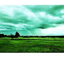 Texas Hill Country Storm Photographic Print