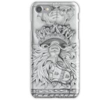 Stone art . Cloister of the Monastery iPhone Case/Skin