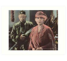 """""""Mr. Wu"""" Art Print"""