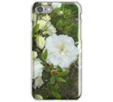 White Garden Flower iPhone Case/Skin
